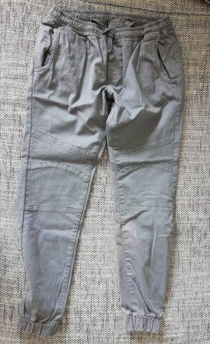 Urban Classics Boyfriend Trousers light grey