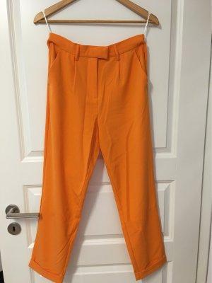 Vila 7/8 Length Trousers orange
