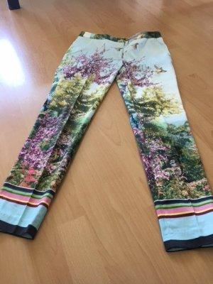 Zara Basic Lage taille broek veelkleurig Katoen