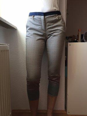 Zara Pantalon 7/8 gris clair