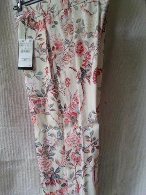 Zara Pantalon multicolore viscose