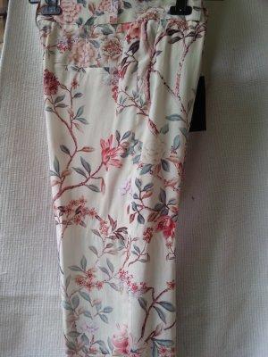 Hose von Zara mit Blumenprint Gr. M