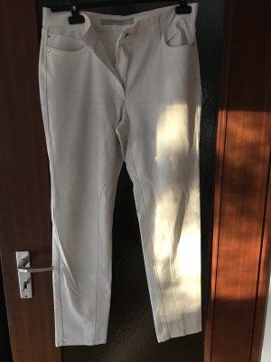 Zerres Pantalon cinq poches blanc