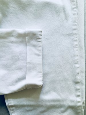 Zara Pantalon 7/8 blanc