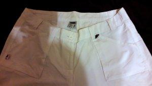 Fila Pantalone cargo bianco-rosso Cotone