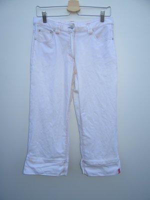 Vintage Pantalon 7/8 blanc