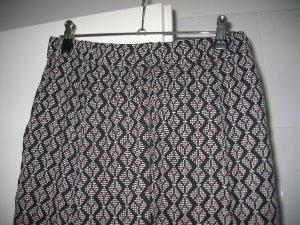 Hose weite Hose Bundfaltenhose Gr. 36 bunt gemustert H&M