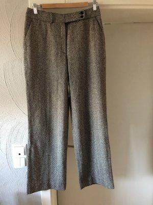 Wollen broek zwart-wit