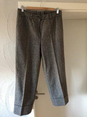 Zerres Wollen broek zwart-wit
