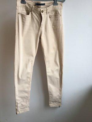Zara Basic Pantalone beige chiaro