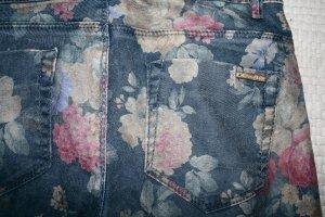 Zara Pantalon strech multicolore