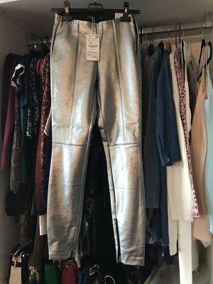 Zara Pantalon argenté