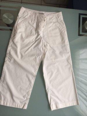 Hose Zero Basic Sommer Sommerhose Gr. 34 XS 7/8 Länge weiss