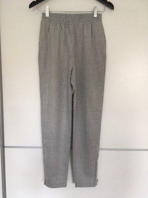 H&M Pantalon chinos gris clair