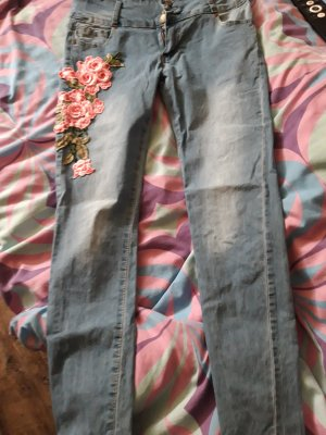 & other stories Jeans stretch bleu