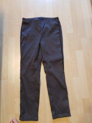 Pantalone di lino blu scuro