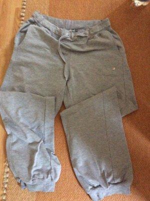 Pantalone fitness grigio chiaro-argento