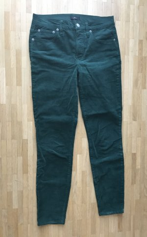 J.crew Corduroy Trousers petrol-forest green