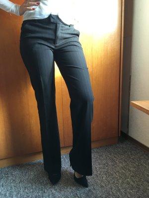 Esprit Pantalon de costume noir-brun noir