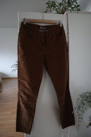 Boden Five-Pocket Trousers cognac-coloured