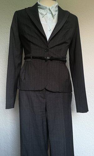 Orsay Traje de pantalón gris oscuro