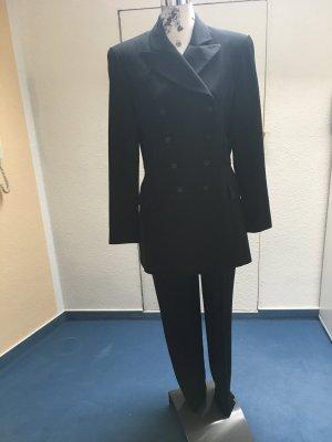 Clasen Tailleur-pantalon noir tissu mixte