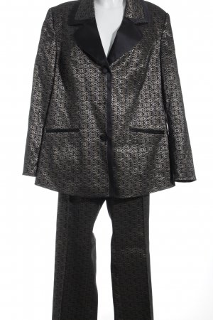 Trouser Suit abstract pattern extravagant style