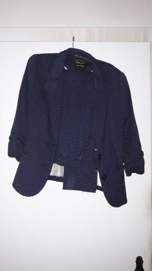 Orsay Broekpak wit-donkerblauw