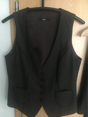 s.Oliver Tailleur pantalone marrone scuro