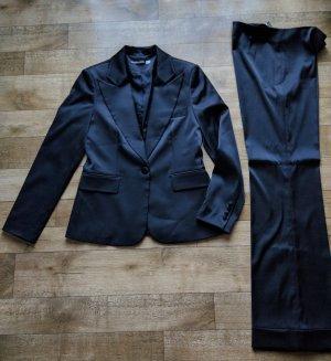 Tailleur pantalone nero Rayon