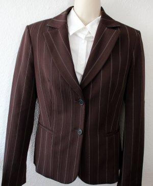 United Colors of Benetton Tailleur pantalone marrone scuro Tessuto misto