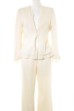 """Tailleur-pantalon """"Collection Heine"""" blanc cassé"""