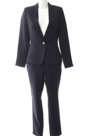 Trouser Suit dark blue business style
