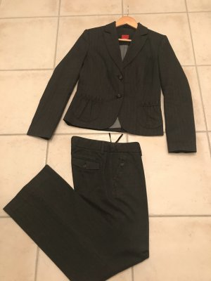 s.Oliver Trouser Suit anthracite