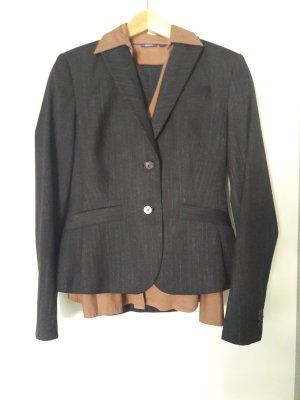 esprit collection Tailleur-pantalon noir-bronze