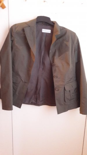 Marie Lund Trouser Suit green grey polyester