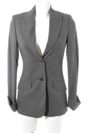 Traje de pantalón gris moteado estilo «business»