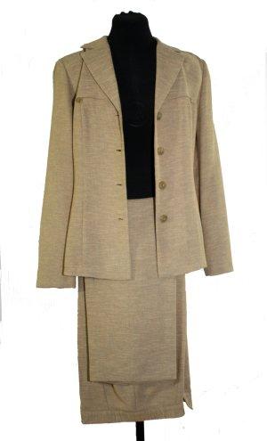 Tailleur-pantalon multicolore tissu mixte
