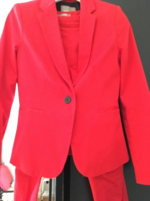 Orsay Trouser Suit red cotton