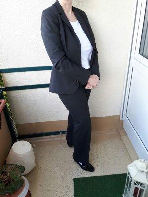 Hosenanzug Kostüm Anzug Mexx in grau mit 2. Hose in schwarz Gr. 42