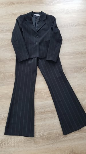 Multiblu Traje de pantalón blanco-negro