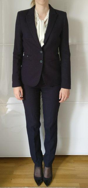 Next Traje de pantalón azul oscuro