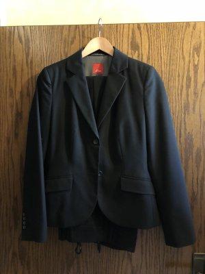 s.Oliver Business Suit black