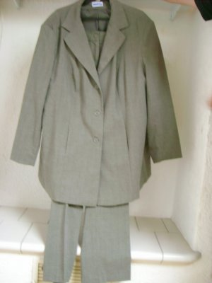 Business Suit grey brown cotton