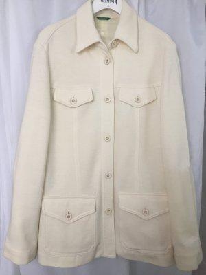 Benetton Traje de pantalón crema