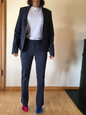 Mexx Business Suit steel blue cotton