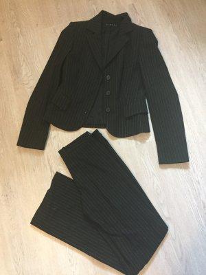 Sisley Tailleur-pantalon noir-blanc