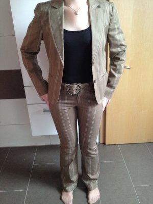 Mexx Pinstripe Suit multicolored cotton