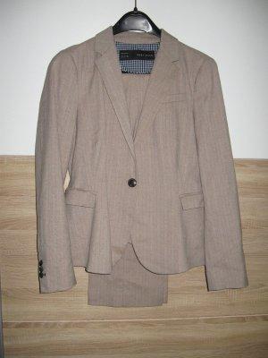 Zara Costume business beige coton