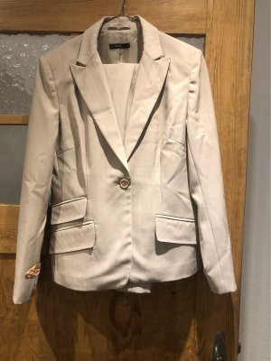 Zero Tailleur pantalone crema-beige